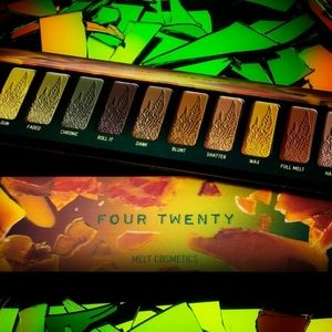 🔥HOT🔥 BNIB LE MELT Four Twenty Eyeshadow Palette